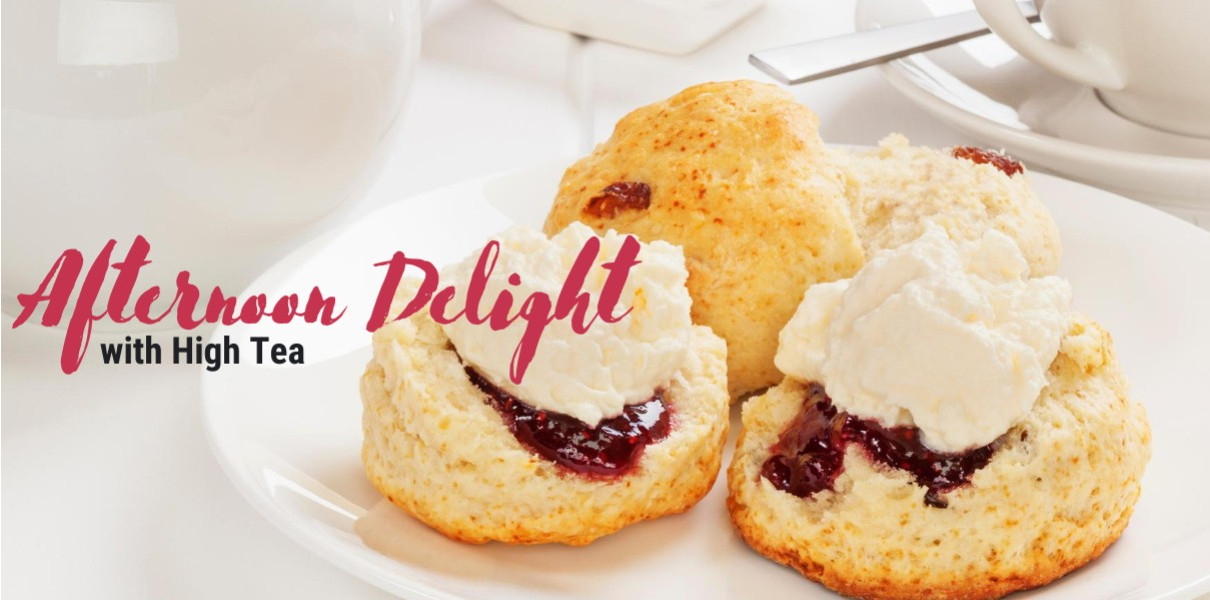 Afternoon Delight with High Tea for 1 at Charlton House Monday-Thursday