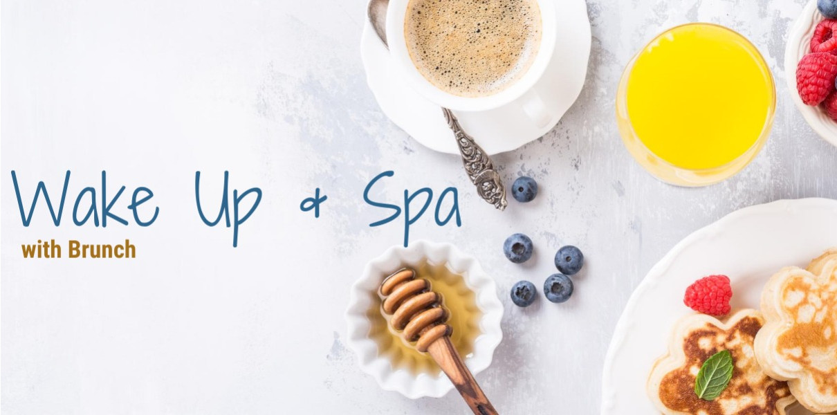 Wake Up & Spa with Brunch for 1 Friday-Sunday