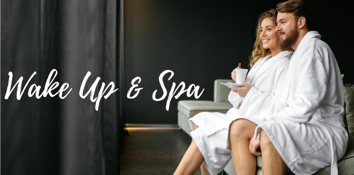 Wake Up & Spa for 2 Friday-Sunday at Fairfield