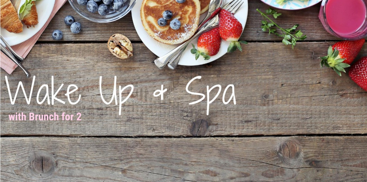 Wake Up & Spa with Brunch for 2 at Charlton House Monday - Thursday