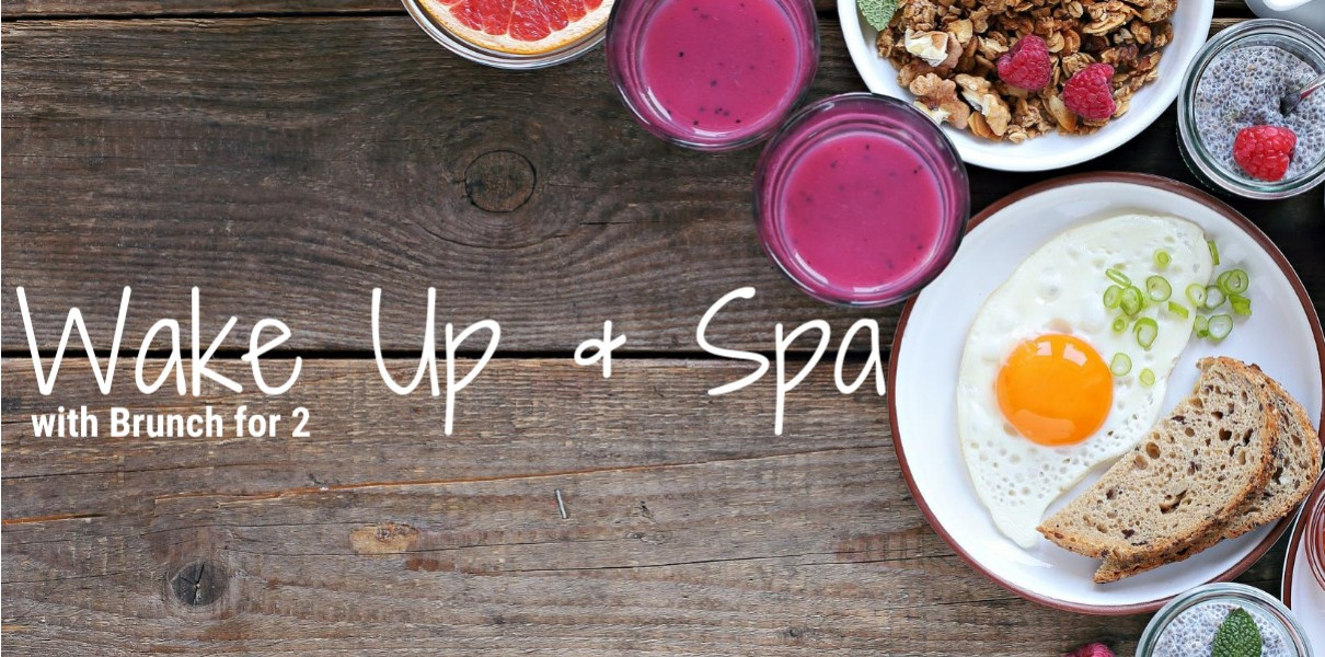 Wake Up & Spa with Brunch for 2 Friday-Sunday