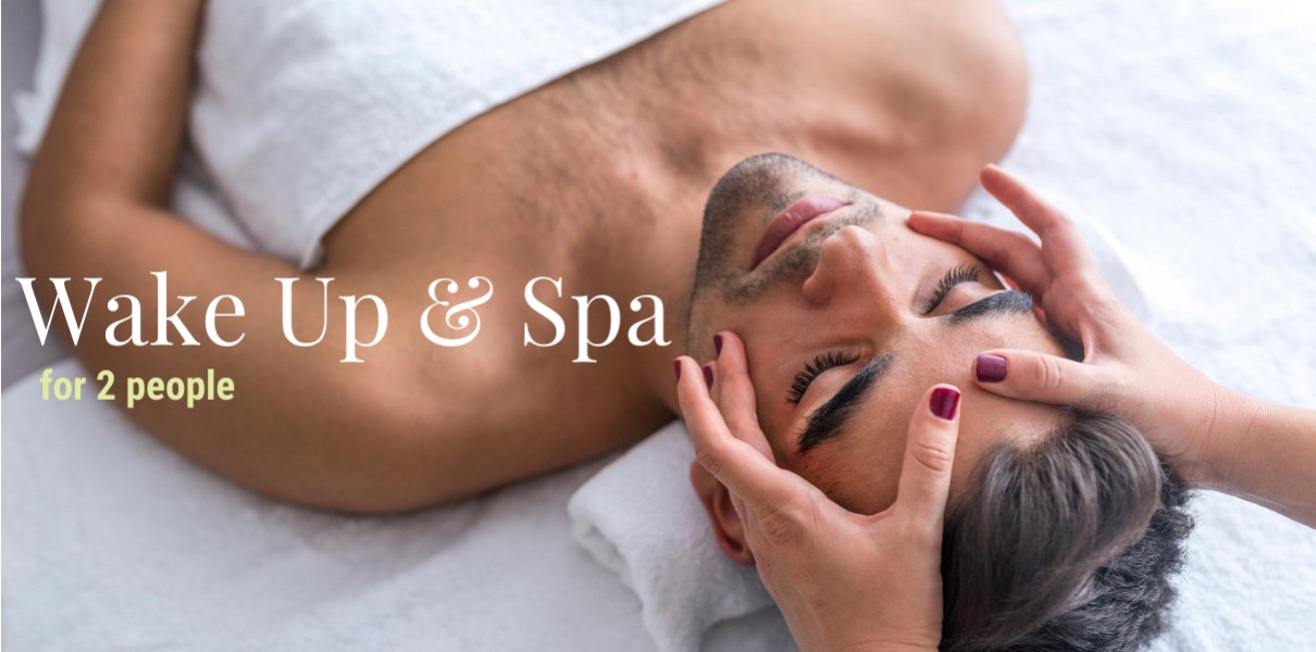 Wake Up & Spa for 2 Friday-Sunday