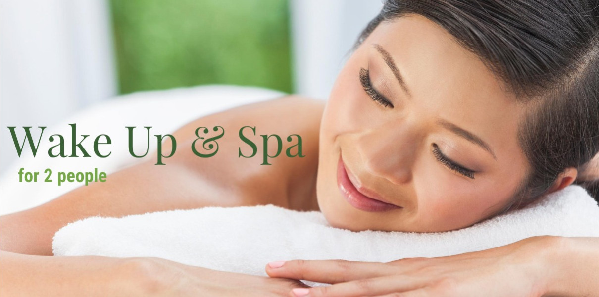 Wake Up & Spa for 2 Monday-Thursday